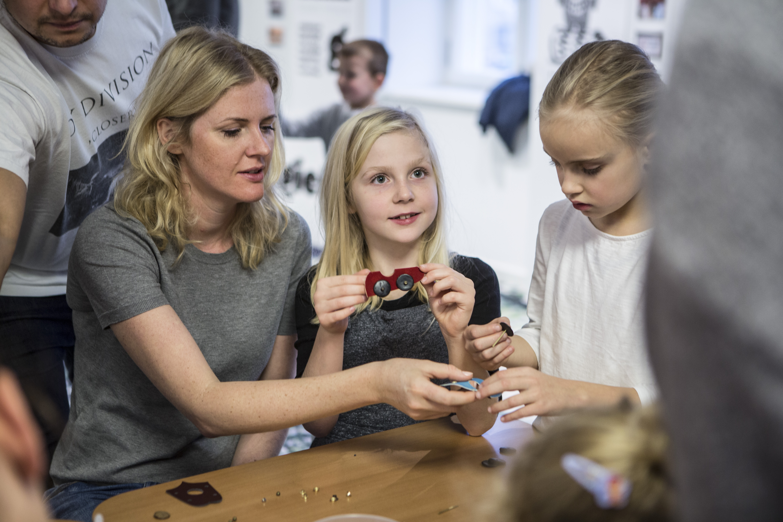 Zajęcia rodzinne w Muzeum Warszawskiej Pragi