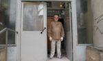 W drzwiach pracowni, fot. P. Łucenko