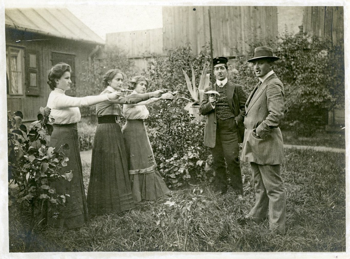 Fotografia z albumu rodzinnego Geberów – własność H. Geber